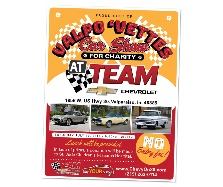Car Show for Charity Poster