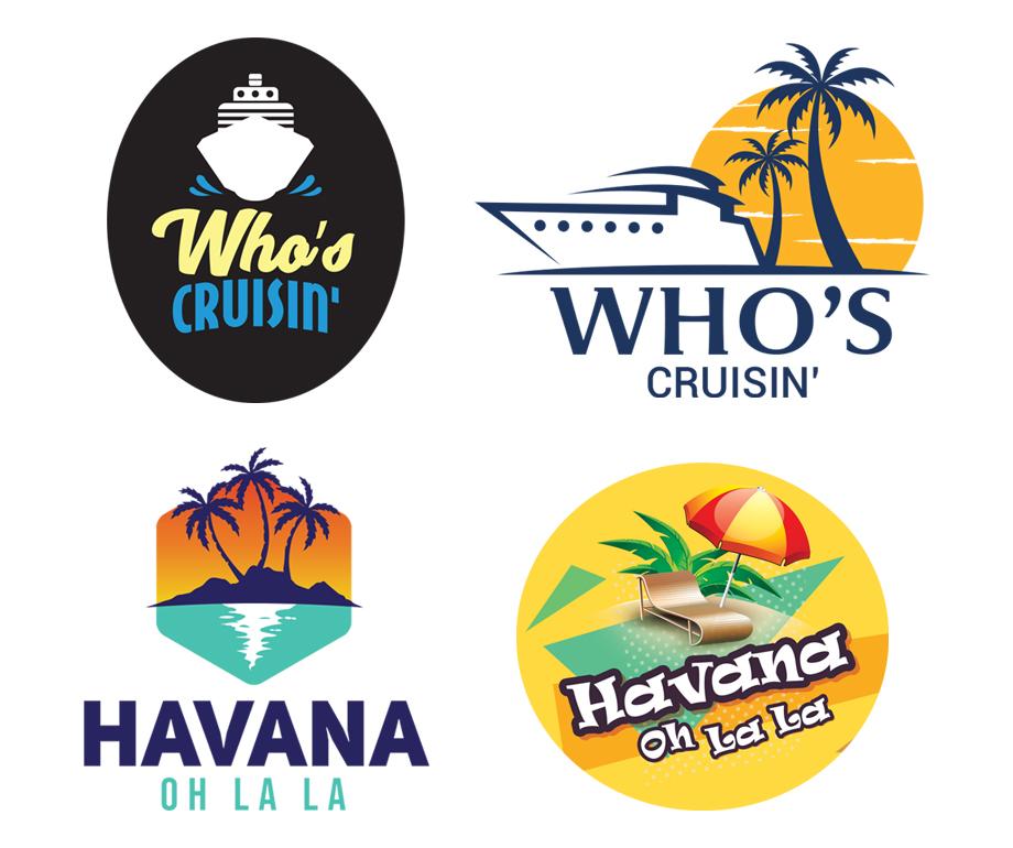 Who's Cruising' & Havana Oh La La Logo Options